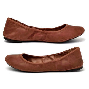 Lucky Brand Emmie Flats Tobacco 9.5M
